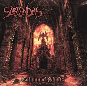 CD - Column of Skulls -