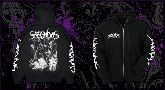 Sabiendas Hooded Zipper!