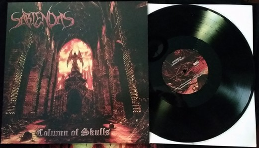 Column of Skulls LP  Black Vinyl