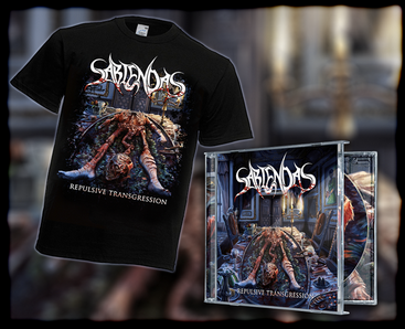 "Package CD + T-Shirt ""Repulsive Transgression"""